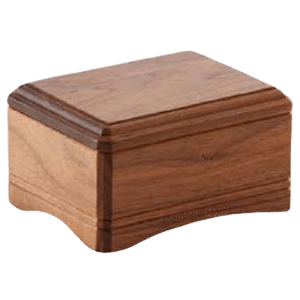 Highlands Small Wood Cremation Urn