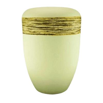 Fiber Gold Biodegradable Urn