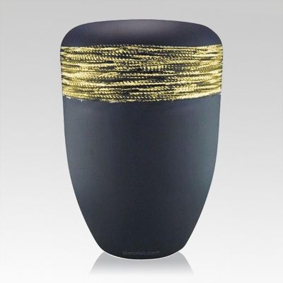Slate Gold Biodegradable Urn