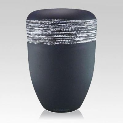 Slate Silver Biodegradable Urn