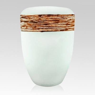 Pure Orange Biodegradable Urn