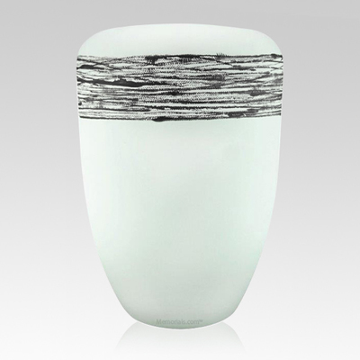 Pure Silver Biodegradable Urn