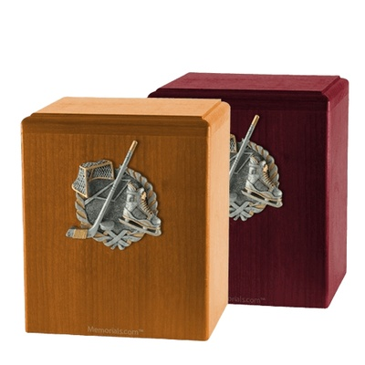 Hockey Fan Cremation Urns