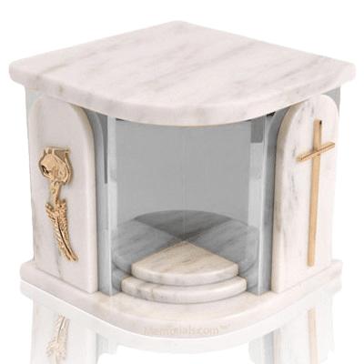 Home Silver White Danby Companion Urn