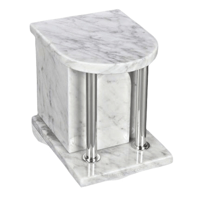 Home Silver White Danby Urn