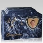 Home to Heaven Photo Cremation Urn