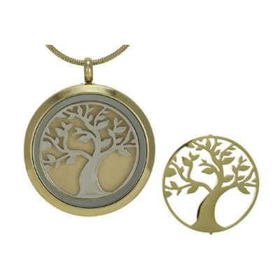Honor Tree Cremation Pendant