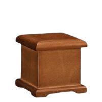 Honroso Wood Small Urn