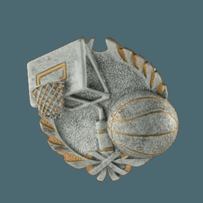 Hoops Fan Walnut Cremation Urn