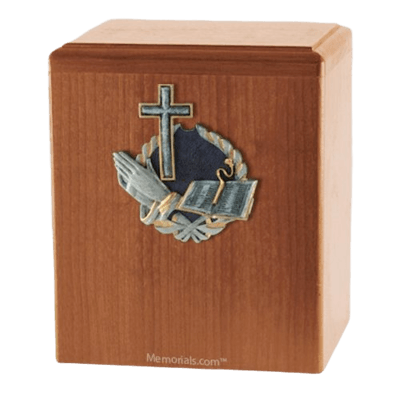 Hope Light Cherry Cremation Urn