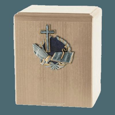 Hope Maple Cremation Urn