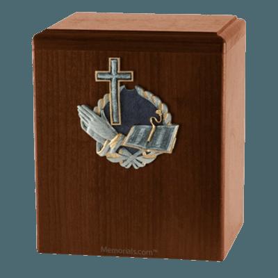 Hope Walnut Cremation Urn