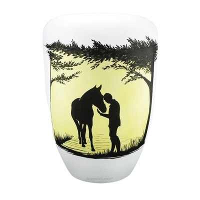 Horse Biodegradable Urn