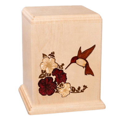 Hummingbird Large Child Cremation Urn