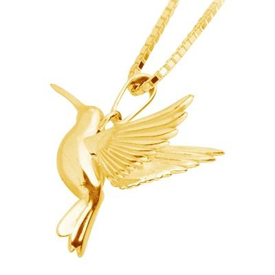 Hummingbird Cremation Jewelry III