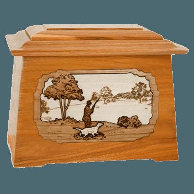 Hunter Mahogany Aristocrat Cremation Urn