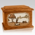 Hunter Mahogany Memory Chest Cremation Urn