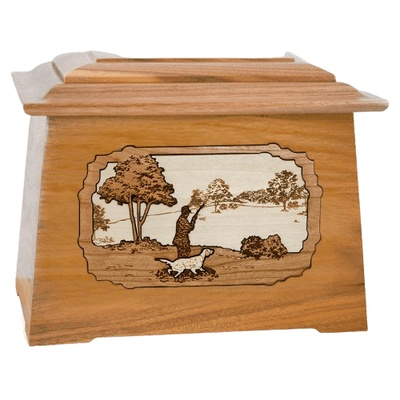 Hunter Oak Aristocrat Cremation Urn