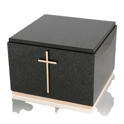 Immensita Black Granite Urns