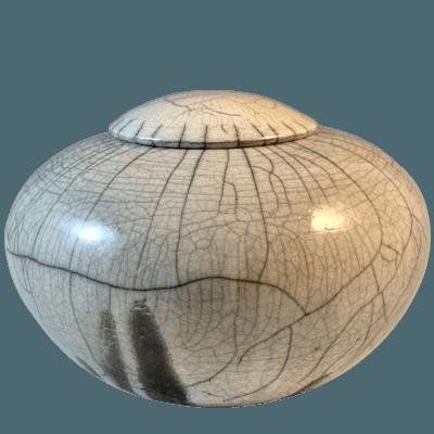 Basin Raku Cremation Urn