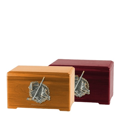Ice Hockey Cremation Urns