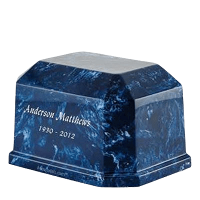 Iceberg Prism Marble Cremation Urn