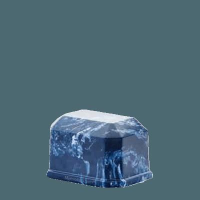 Iceberg Prism Marble Keepsake Urn