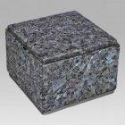Immensita Silver Blue Pearl Granite Urn