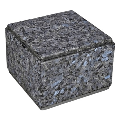 Immensita Silver Blue Pearl Granite Urn