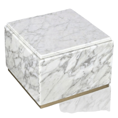 Immensita Bianco Marble Urns