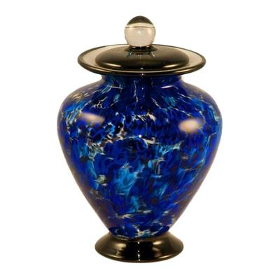 Infinity Glass Pet Cremation Urn