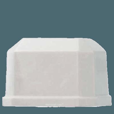 Ivory Prism Marble Cremation Urn