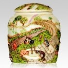 Cat Rainbow Bridge Cremation Urn