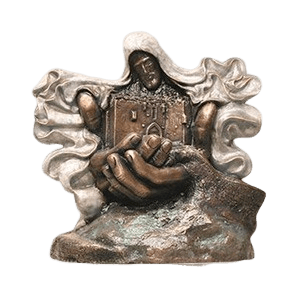 City of Peace Bronze Cremation Urn