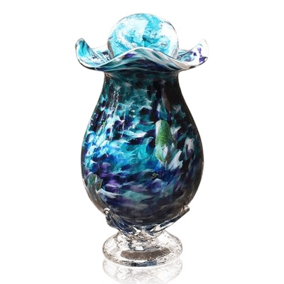 Jungle Fever Glass Cremation Urns