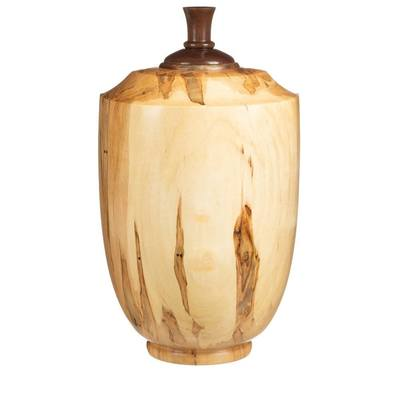 Kanti Wood Cremation Urn