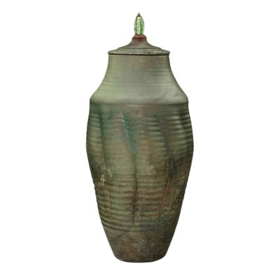 Kikiman Raku Cremation Urn For Two