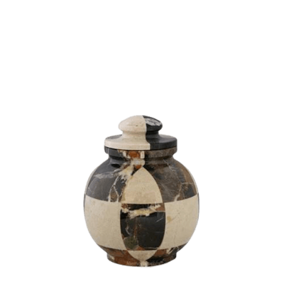 Kingdom Marble Keepsake Urn