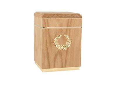 Kizhi Oak Cremation Urn