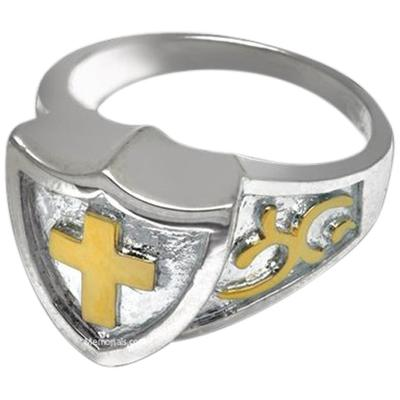 Knight Cremation Ring