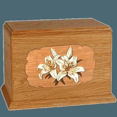 Lily Mahogany Companion Urn