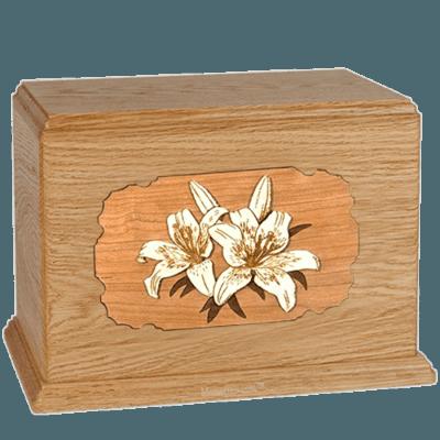 Lily Oak Companion Urn