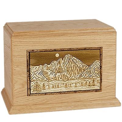 Longs Peak Maple Companion Urn
