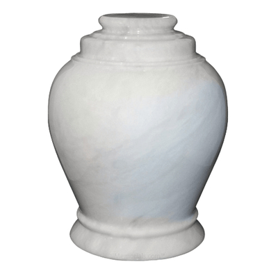 Antique White Marble Urn