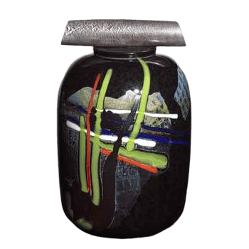 La Jolla Abstract Cremation Urn