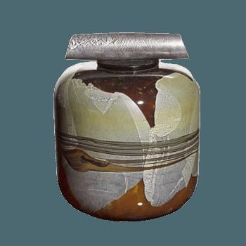 La Jolla Seaglass Cremation Urn