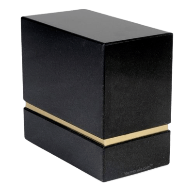 La Nostra Nero Granite Companion Urn