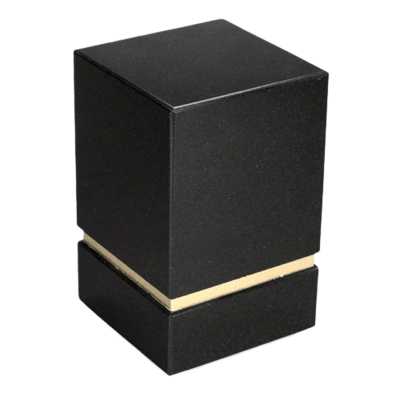 La Nostra Nero Granite Urn