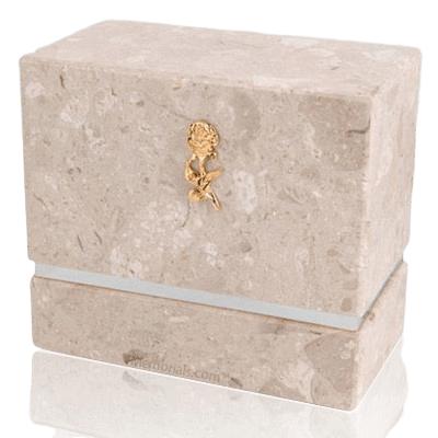 La Nostra Perlato Silver Urn For Two
