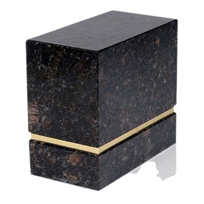 La Nostra Tan Brown Granite Companion Urn